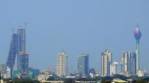 Sri Lanka: Colombo Skyline | Photo Credit: Wikipedia