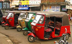 Tuk-tuk in Sri Lanka | Photo Credit: Wikimedia Commons
