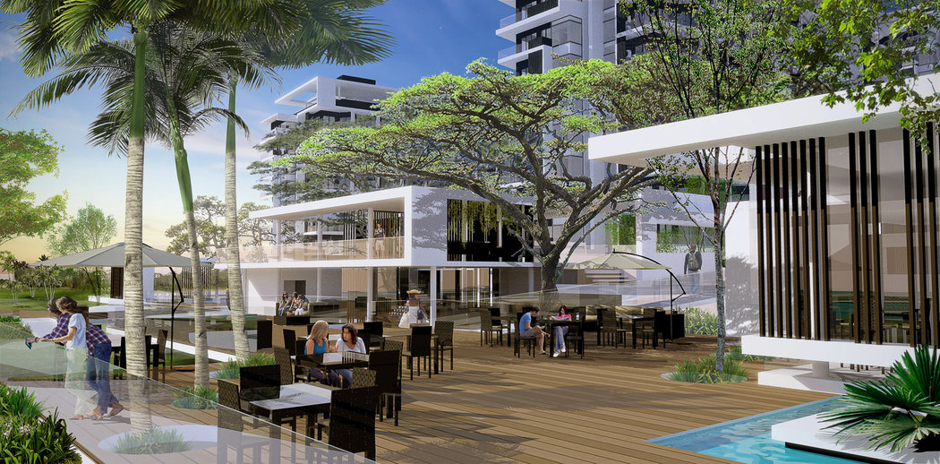 Tambuli seaside living alfa investors limited for Residential clubhouse designs